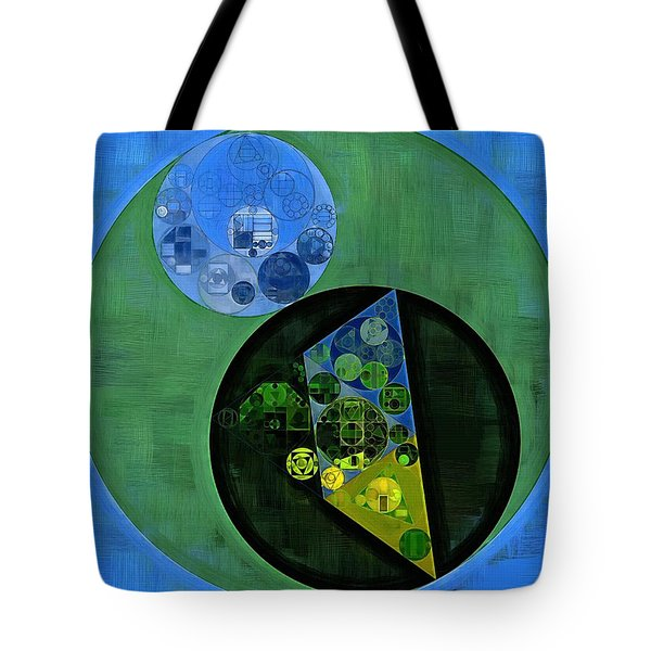 Tote Bag featuring the digital art Abstract Painting - Amazon by Vitaliy Gladkiy