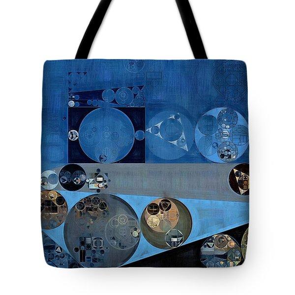 Abstract Painting - Bermuda Grey Tote Bag