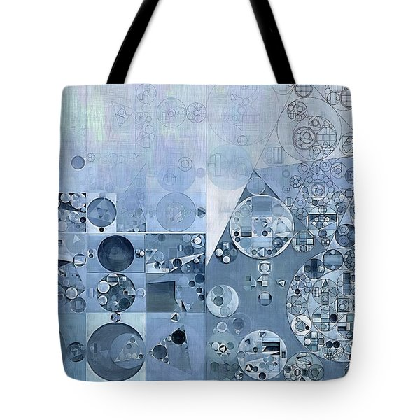 Abstract Painting - Light Steel Blue Tote Bag