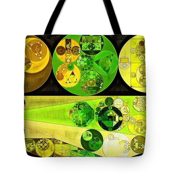 Tote Bag featuring the digital art Abstract Painting - Starship by Vitaliy Gladkiy