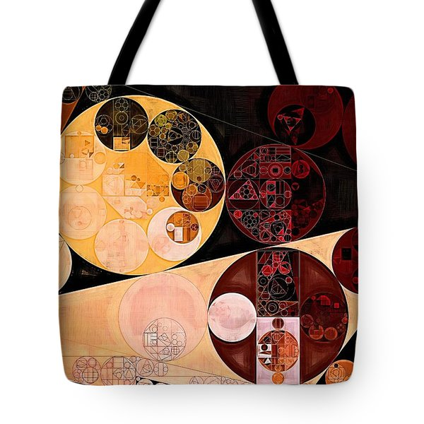 Tote Bag featuring the digital art Abstract Painting - Tacao by Vitaliy Gladkiy