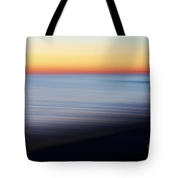 Abstract Sky And Water Tote Bag