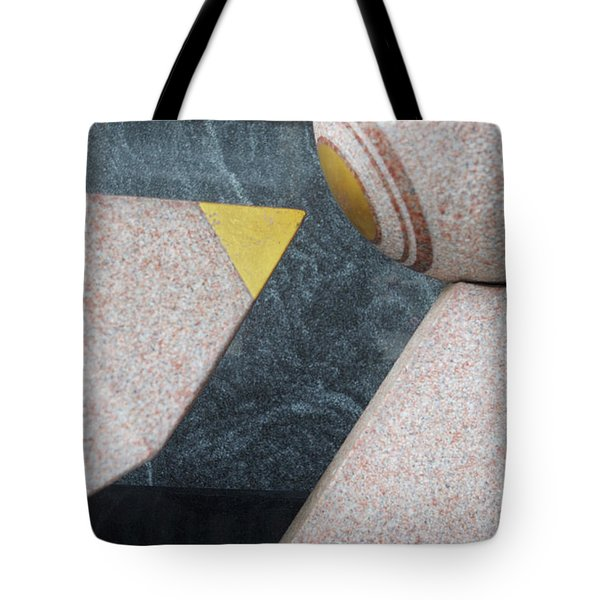 Abstract Two  Tote Bag