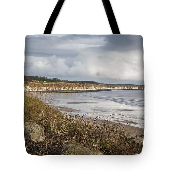 Across The Bay Tote Bag by David  Hollingworth