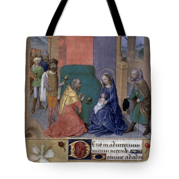 Adoration Of Magi Tote Bag by Granger