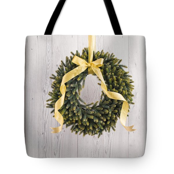 Tote Bag featuring the photograph Advents Wreath by Ulrich Schade