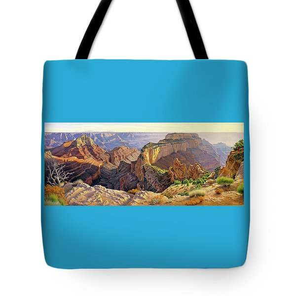 Afternoon-north Rim Tote Bag