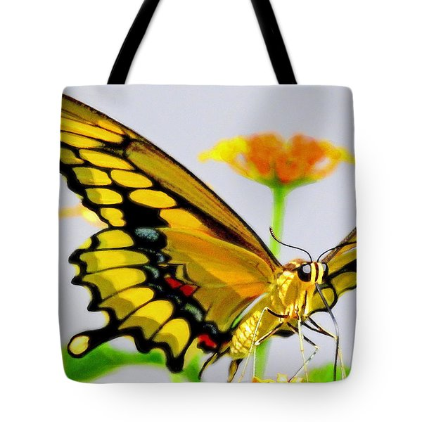 Afternoon Sip Tote Bag by Charlotte Schafer