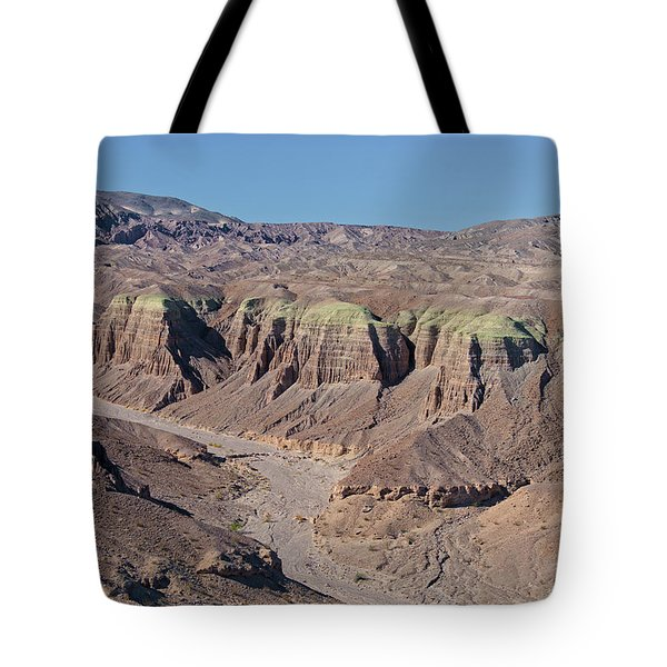 Tote Bag featuring the photograph Afton Canyon by Jim Thompson