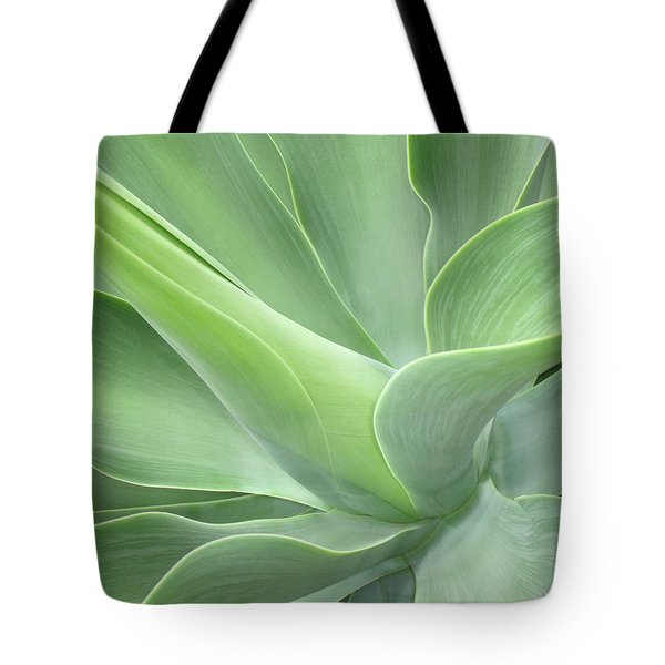 Agave Attenuata Abstract Tote Bag