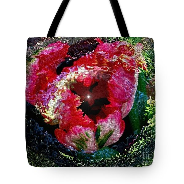 Tote Bag featuring the photograph Agleam by Kathie Chicoine
