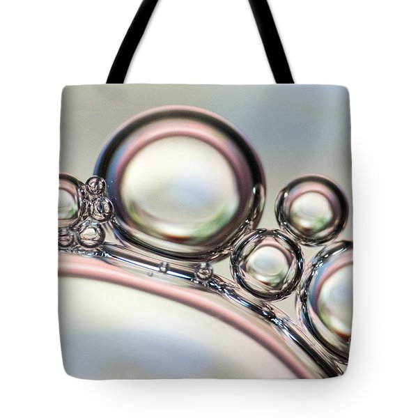 Air Bubbles Tote Bag by Odon Czintos