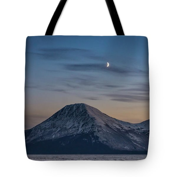 Alaska Sunset Tote Bag