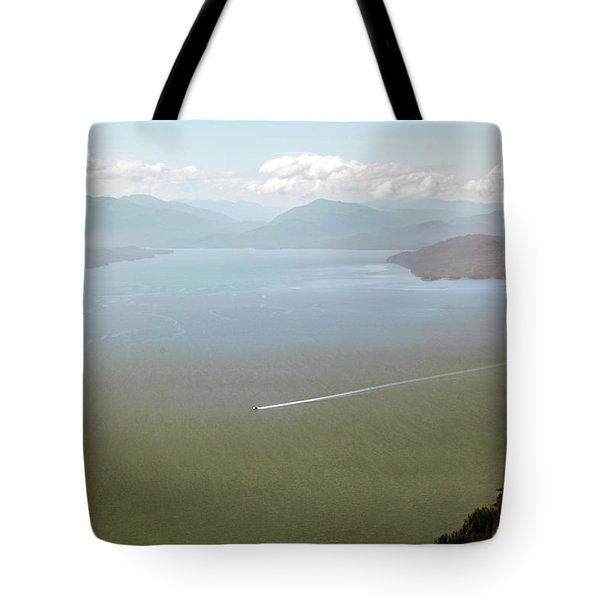 Tote Bag featuring the photograph Alaska The Beautiful by Madeline Ellis
