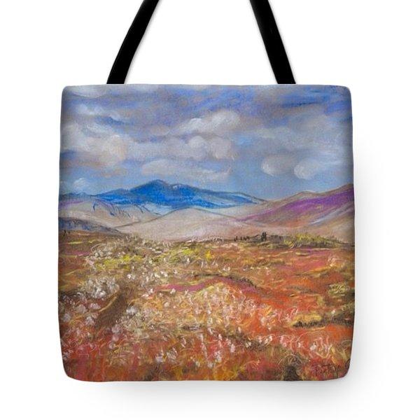 Alaskan Meadow Tote Bag