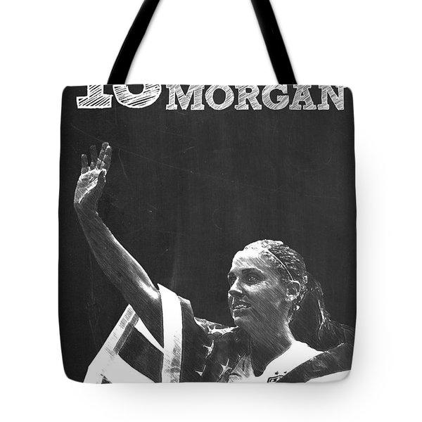 Alex Morgan Tote Bag