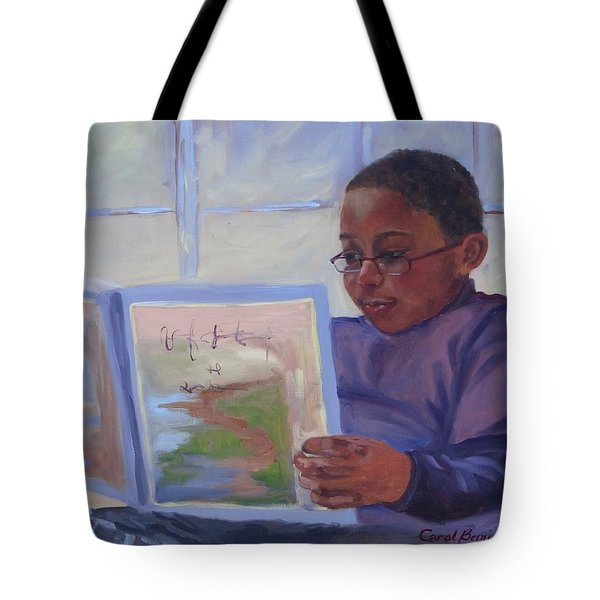 Alex Reading Tote Bag