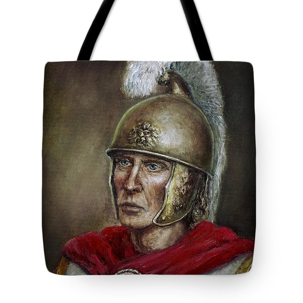 Alexander The Great Tote Bag by Arturas Slapsys