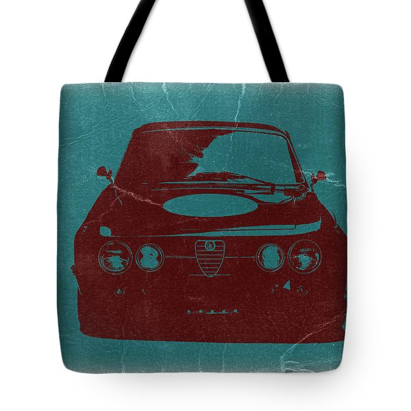 Alfa Romeo Gtv Tote Bag by Naxart Studio