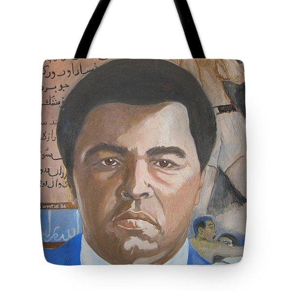 Ali Tote Bag by Nigel Wynter