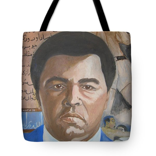 Ali Tote Bag by Nigel Wynter