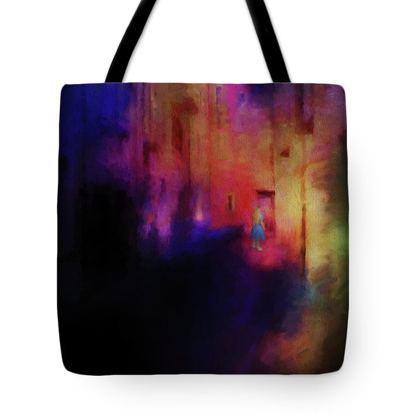 Alice Tote Bag by Jim  Hatch