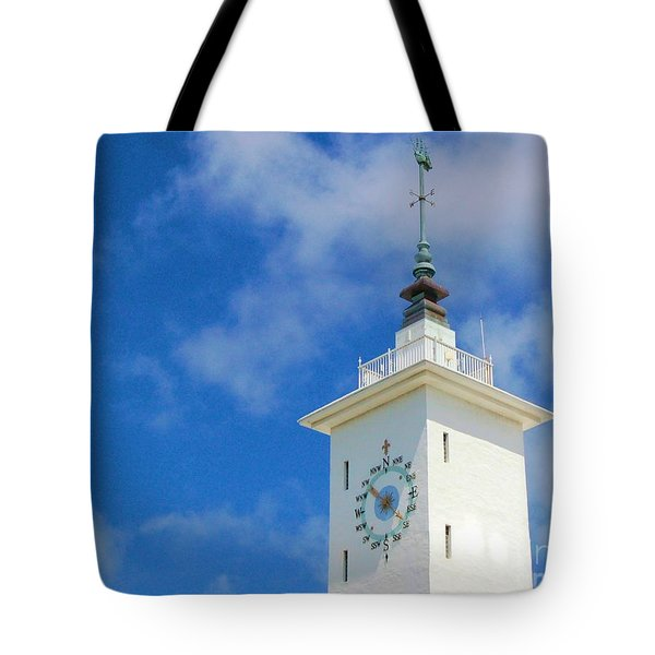 All Along The Watchtower Tote Bag by Debbi Granruth