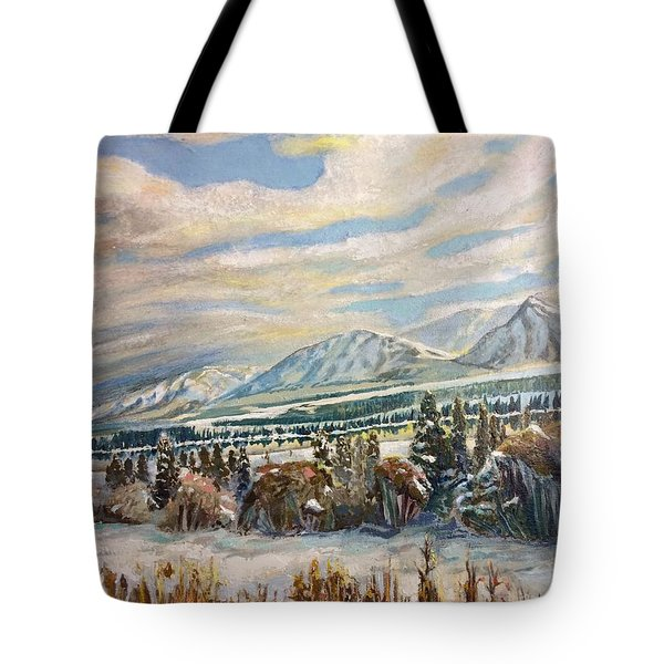 All Of Creation Waits Tote Bag
