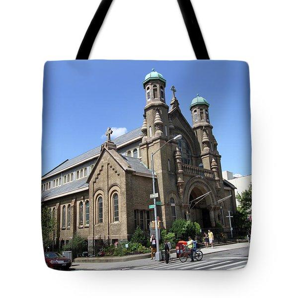 All Saints Episcopal Church Tote Bag