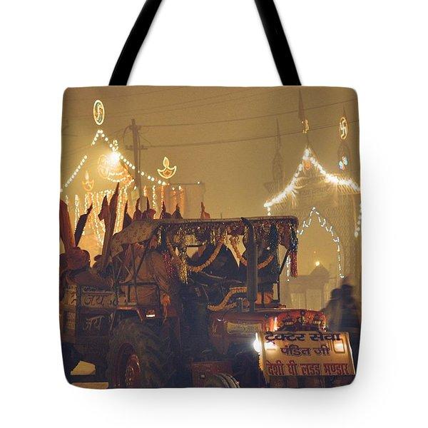 #allahabad #kumbhmela #kumbh #mahakumbh Tote Bag