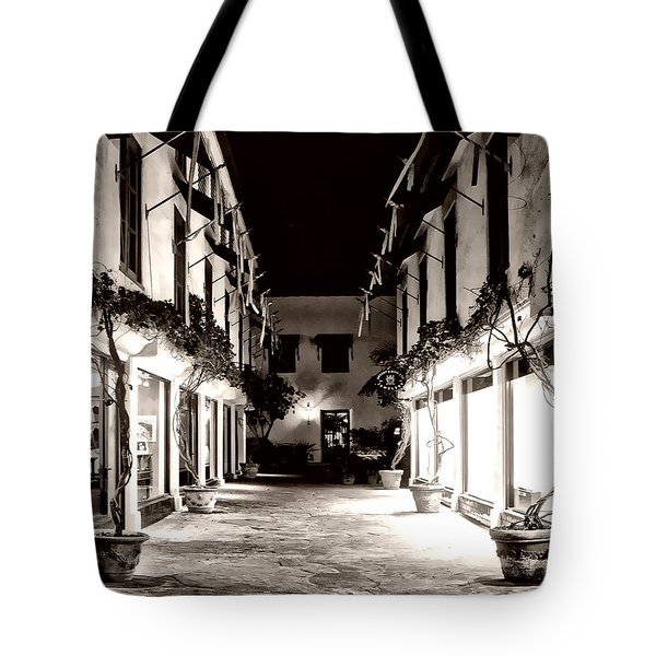 Alley Tote Bag by Danuta Bennett