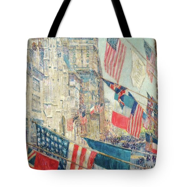 Allies Day - May 1917 Tote Bag