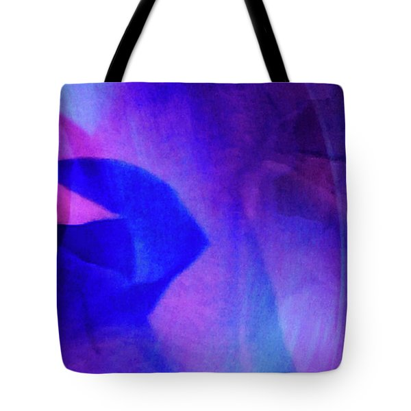 Tote Bag featuring the painting Allure by Gerlinde Keating - Galleria GK Keating Associates Inc