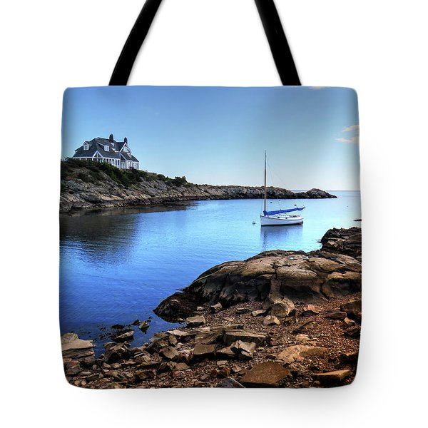 Tote Bag featuring the photograph Almost Paradise Newport Ri by Tom Prendergast