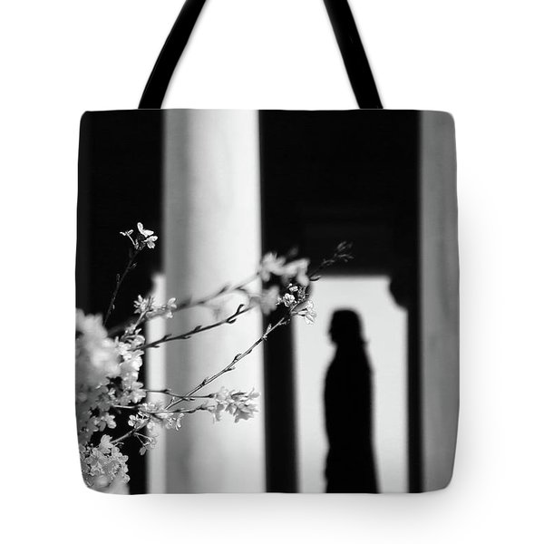 Tote Bag featuring the photograph Alone by Mitch Cat