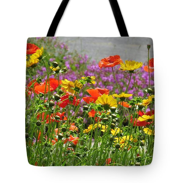 Along The Road Tote Bag