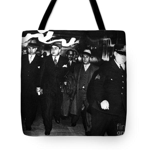 Tote Bag featuring the photograph Alphonse Capone (1899-1947) by Granger