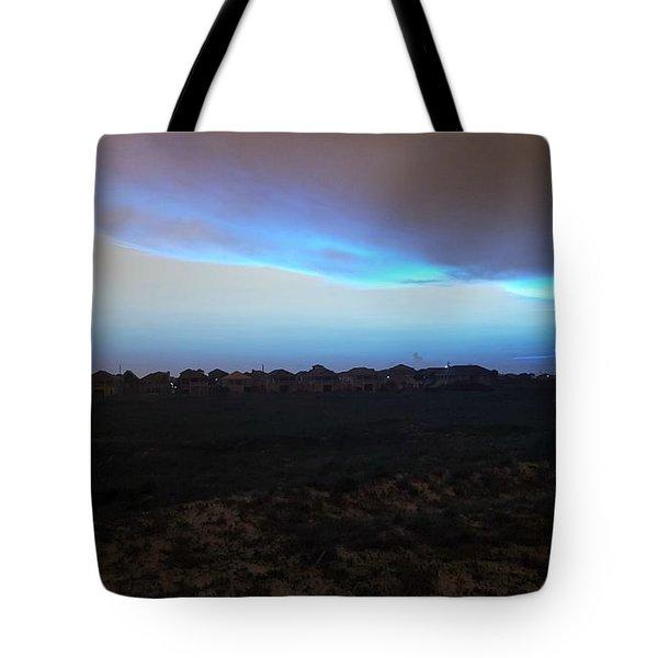 Alternate Sunset Blue Tote Bag