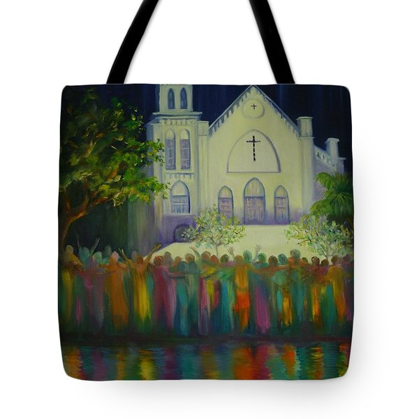 Amazing Grace Tote Bag by Dorothy Allston Rogers