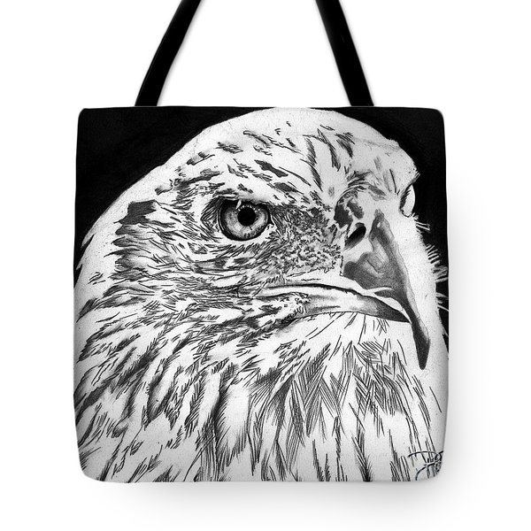 American Bald Eagle Tote Bag by Bill Richards