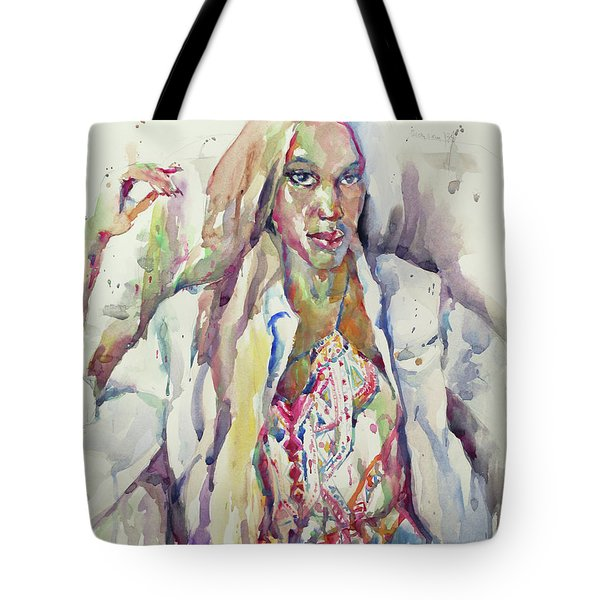 Amethyst Tote Bag by Becky Kim