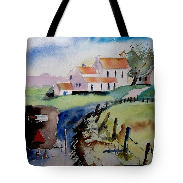 Amish Buggy Ride Tote Bag