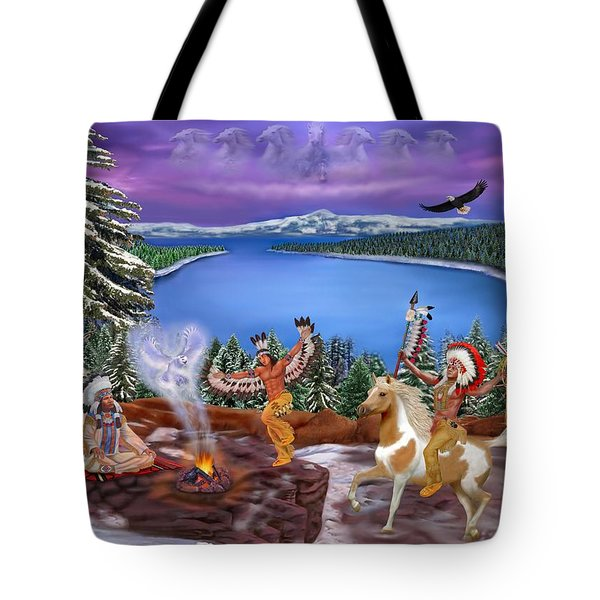 Among The Spirits Tote Bag