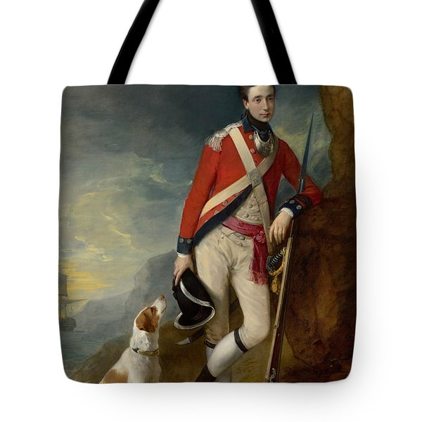 An Officer Of The 4th Regiment Of Foot Tote Bag
