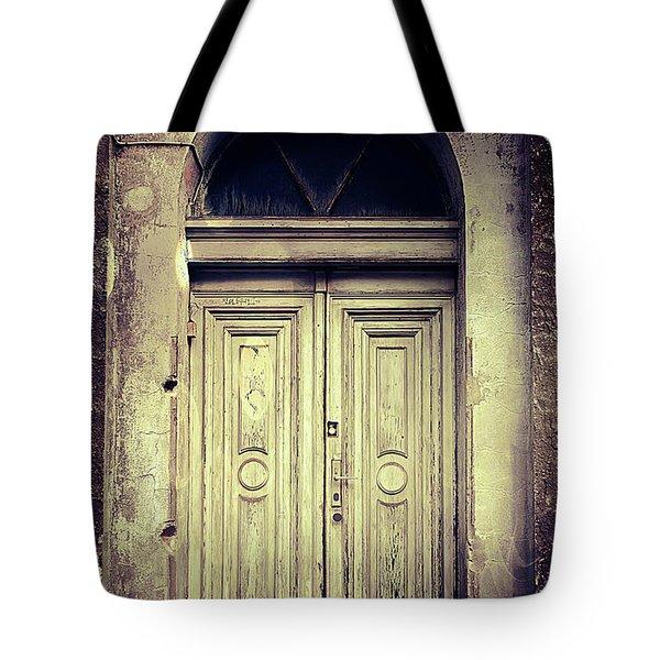 An Old Door  Tote Bag