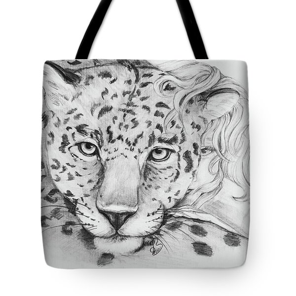 Anam Leopards Tote Bag
