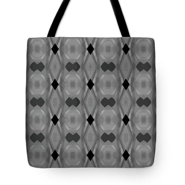 Ancient Carvings In Grays Tote Bag