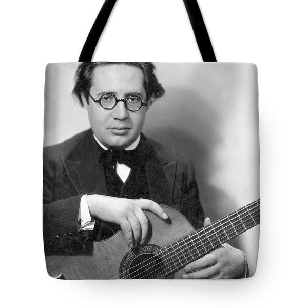 Andres Segovia Tote Bag by Granger