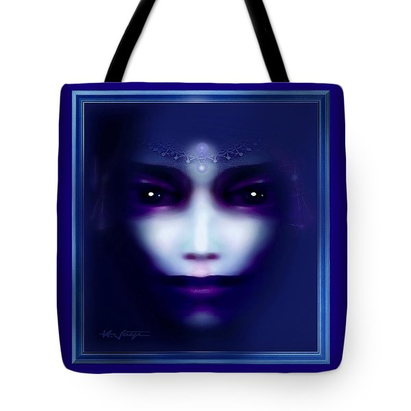 Angel  Blue Tote Bag