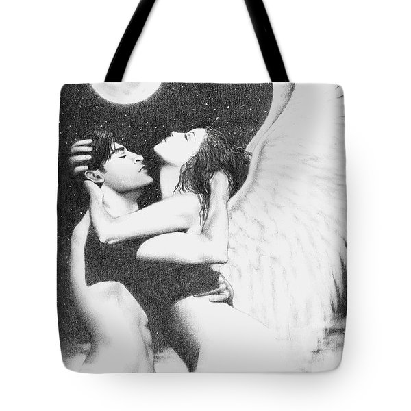 Angel Embrace Tote Bag by Bruce Lennon
